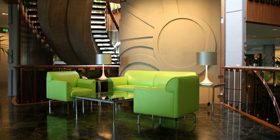 02 Green-Sofa-and-Table-Glass-for-Inspiration-Design-with-Modern-Office-Ideas-Decorating