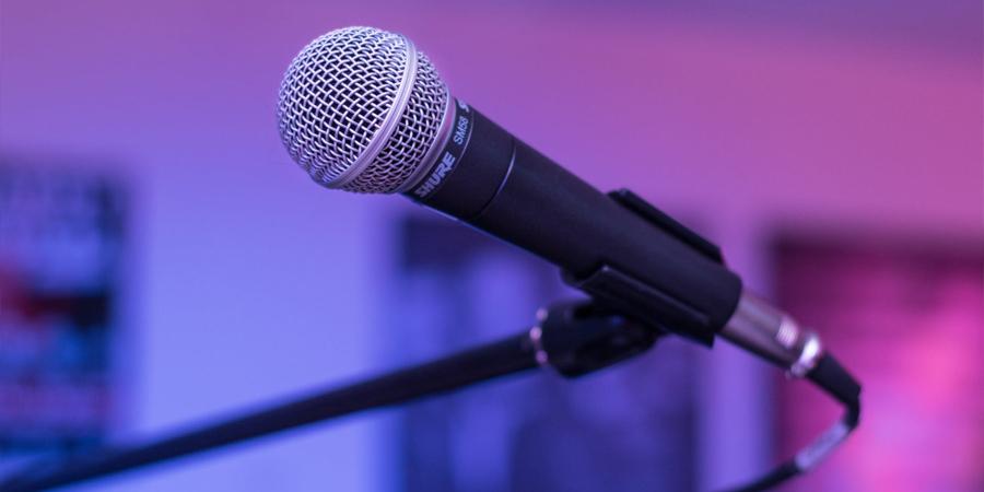 Audiovisueel - microfoon
