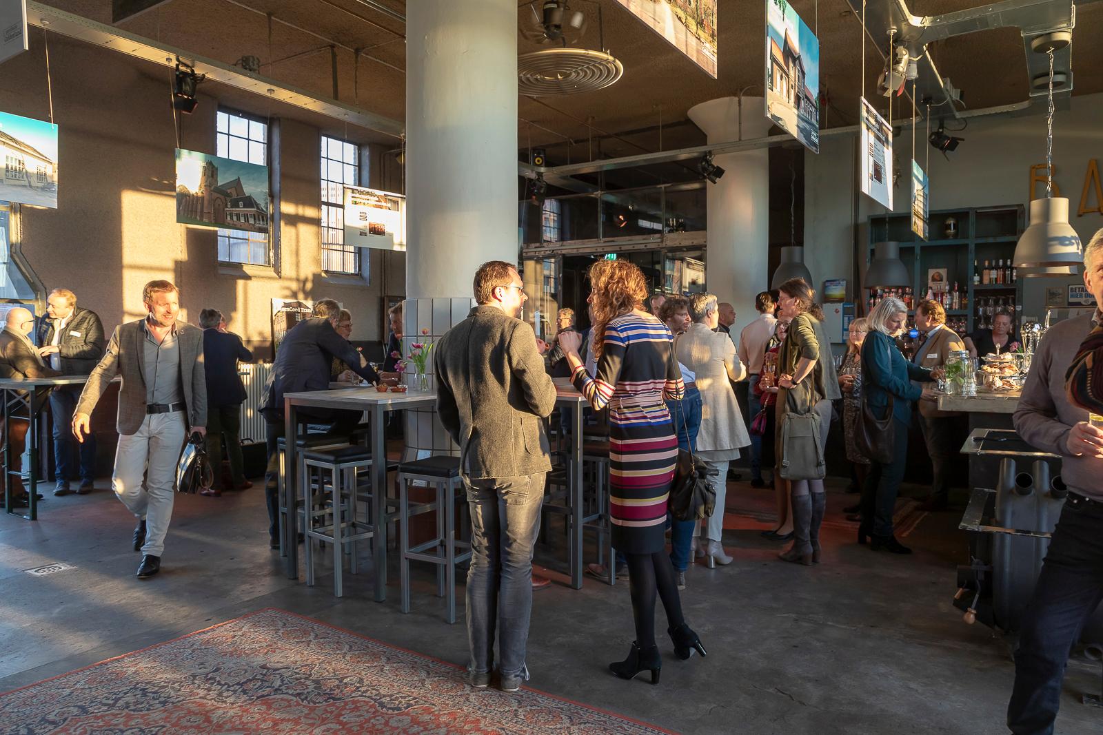 Zakelijke bijeenkomst Koelhuis café